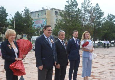 В Бохтаре состоялся праздничный концерт, посвященный 76-й годовщине Победы в Великой Отечественной войне.