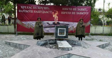 В Душанбе начался фестиваль военного кино