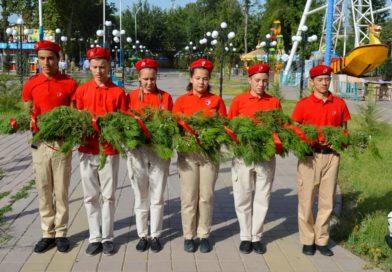 В Хатлонской области прошла акция памяти в честь  80-летия начала Великой Отечественной войны