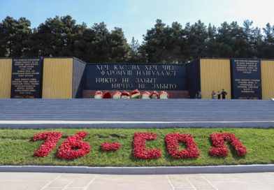 Бессмертный полк  Душанбе 2021 г.